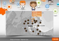 Orange foursquare